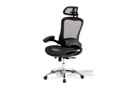KA-A185 BK, kancelářská židle, látka mesh černá