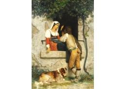 KO V-334 William Bouguereau - Italská láska