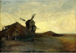 D-8454 Alois Kalvoda - Krajina s mlýnem