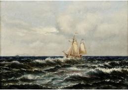 VCM 736 Oscar Kleineh - Mořská scenérie