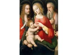 XV-120 Andrea Piccinelli - Madona s dítětem a svatým Janem Křtitelem
