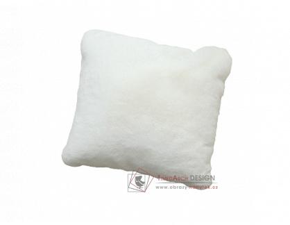 RABITA NEW 7, polštář 45x45cm, bílá