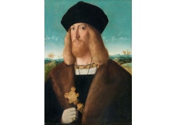 DDSO-5386 Bartolomeo Veneto - Portrét vousatého muže