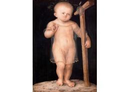 D-6081 Lucas Cranach - Bolestný Kristus