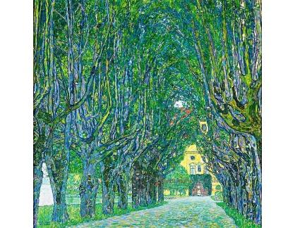 VR3-110 Gustav Klimt - Alej u zámku Kammer