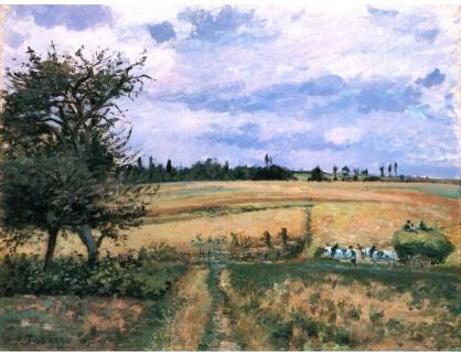 VCP-349 Camille Pissarro - Krajina v Pontoise