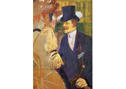 R7-113 Henri Toulose-Lautrec - Angličan v Moulin Rouge