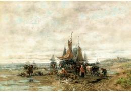 D-9325 Désireé Thomassin - Rybí trh na pláži