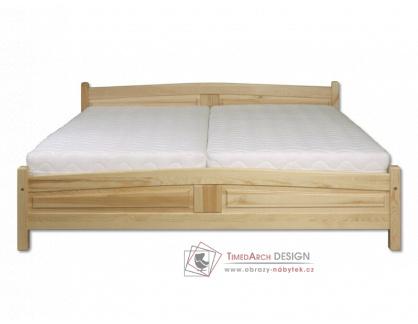 KL-104, postel 120x200cm, borovicový masiv