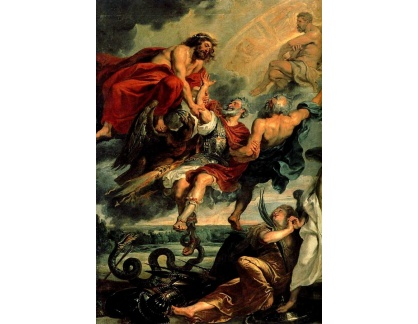 VRU78 Peter Paul Rubens - Apoteóza Jundřicha IV