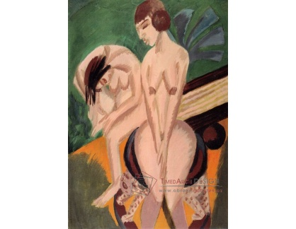VELK 51 Ernst Ludwig Kirchner - Dvě nahé ženy