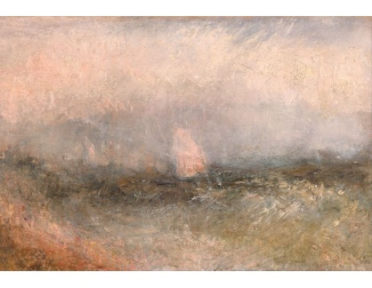 Joseph Mallord William Turner - Off Nore