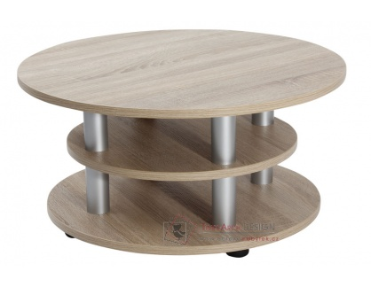 Konferenční stolek K147 KVIDO, dub sonoma