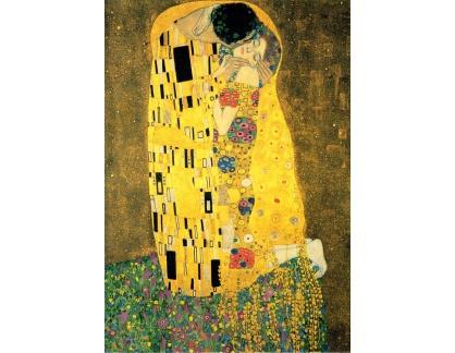 VR-3-8-2 Gustav Klimt - Polibek