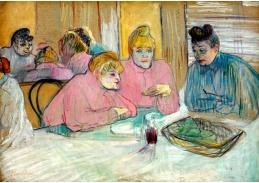D-6338 Henri de Toulouse-Lautrec - Dámy v jídelně