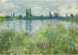 D-7071 Claude Monet - Břehy Seiny ve Vétheuil