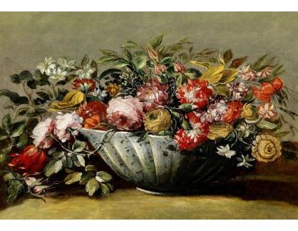 Slavné obrazy III-DDSO-583 Francesco Guardi - Květinové zátiší