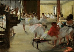 D-7118 Edgar Degas - Taneční třída