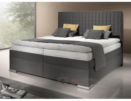 RIALTO, čalouněná postel - boxspring 160x200cm