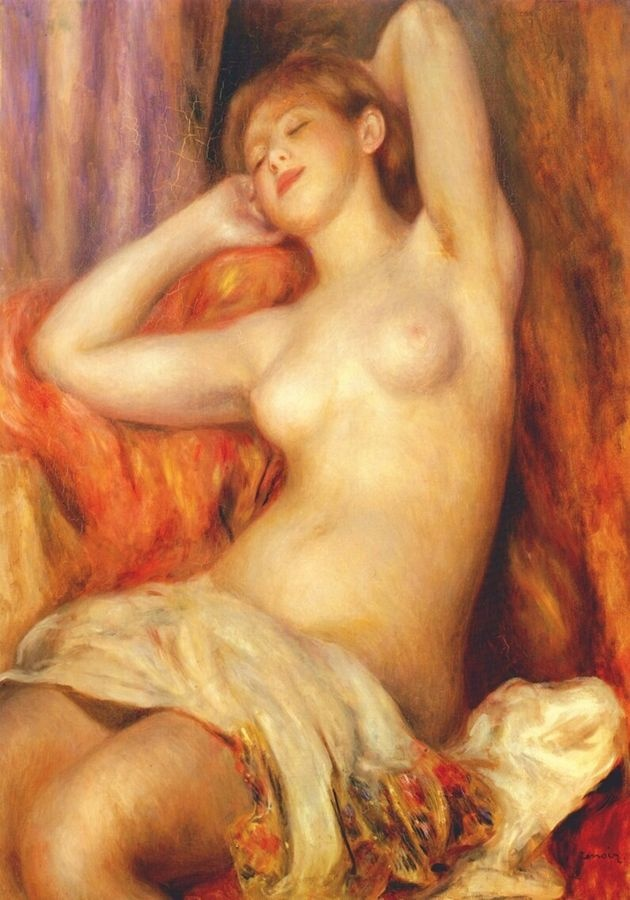R14-103 Pierre-Auguste Renoir - Spánek