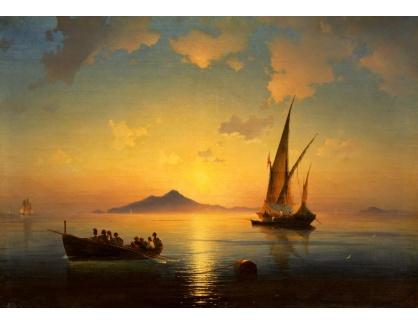 VL371 Ivan Konstantinovič Aivazovskij - Neapolský záliv