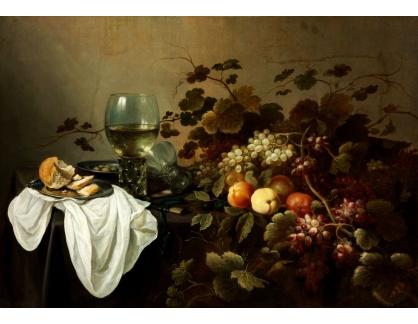 Slavné obrazy XIV-34 Pieter Claesz - Zátiší