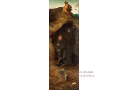 D-6327 Hieronymus Bosch - Triptych svatých, pravý panel