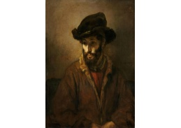 D-8055 Rembrandt - Vousatý muž s kloboukem