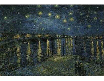 VR2-493 Vincent van Gogh - Hvězdná noc nad Rhonou