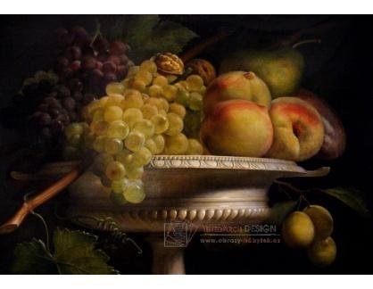 VF124 Antoine Berjon - Ovoce v alabastrovém poháru