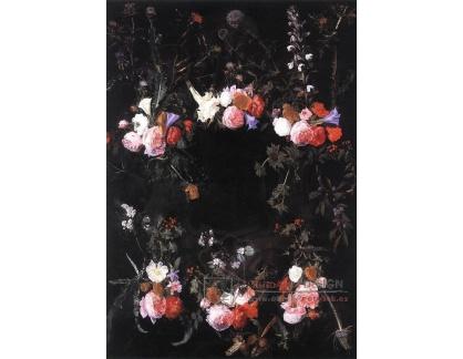 VH629 Daniel Seghers - Věnec květin