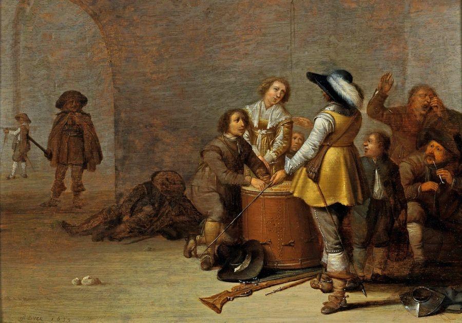 Slavné obrazy X DDSO-1003 Pieter Potter - Strážnice