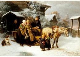 Slavné obrazy XI-96 Bengt Nordenberg - Odjezd domů