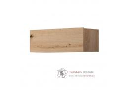 SPRING ED90, závěsná skříňka, dub artisan