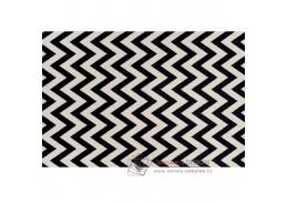 ADISA, koberec 200x285cm, slonová kost / tmavě šedá