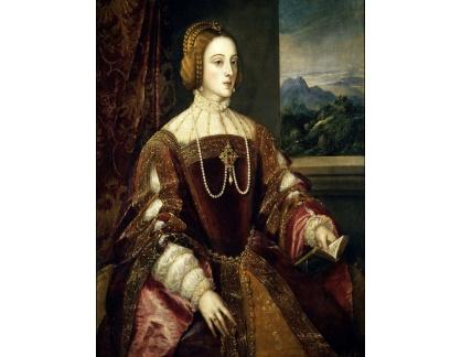 Tizian - Isabella Portugalská