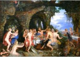BRG-132 Jan Brueghel a Peter Paul Rubens - Achelousuv svátek