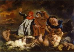 VEF 06 Eugene Ferdinand Victor Delacroix - Loď Dante