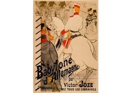 D-6347 Henri de Toulouse-Lautrec - Babylon Německa