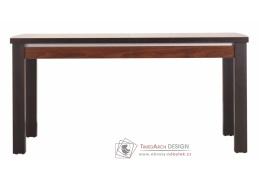 FORREST, jídelní stůl rozkládací FR 12 ořech tmavý / dub miláno