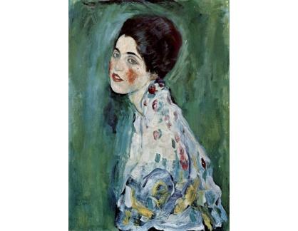 VR3-51 Gustav Klimt - Portrét dámy