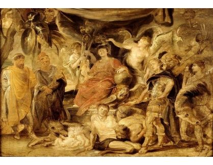 VRU144 Peter Paul Rubens - Triumf Říma