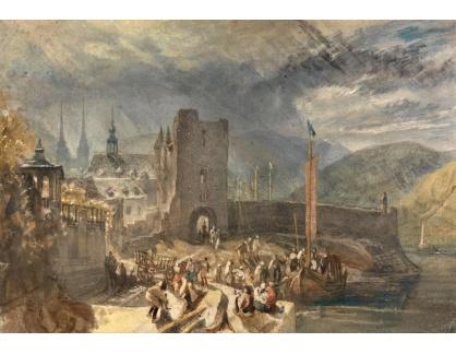 Joseph Mallord William Turner - Pohled na Boppart