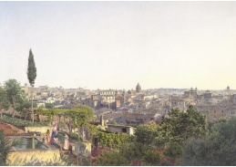 VALT 10 Jacob Alt - Pohled na Řím