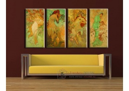 Obrazový set 4D Alfons Mucha 1