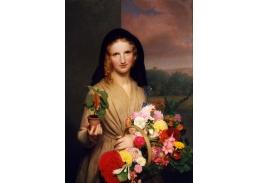 DDSO-2760 Charles Cromwell Ingham - Dívka s květinami