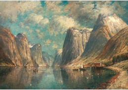 D-6581 Adolf Kaufmann - Norské fjordy