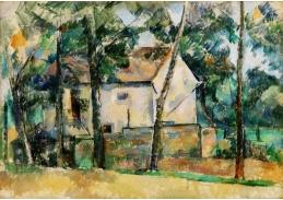 D-7503 Paul Cézanne - Dům a stromy