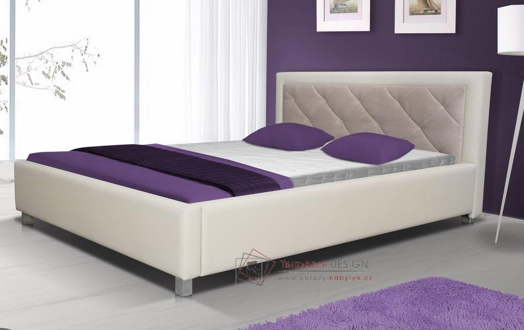Čalouněná postel 180x200 cm LUBNICE VI