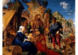 VR12-33 Albrecht Dürer - Klanění tří králů
